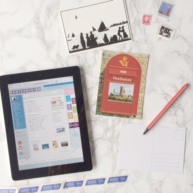 Postcrossing kaarten