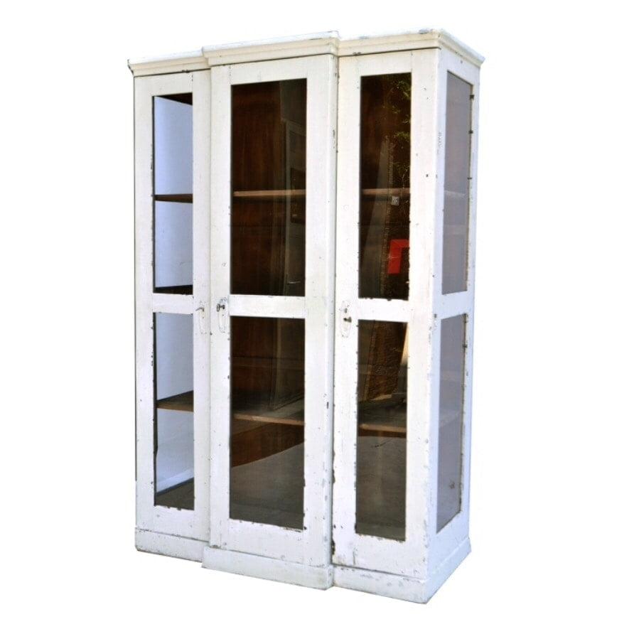 vitrinekast de fabricage