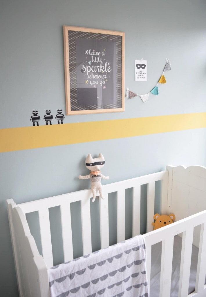 flexa oker babykamer