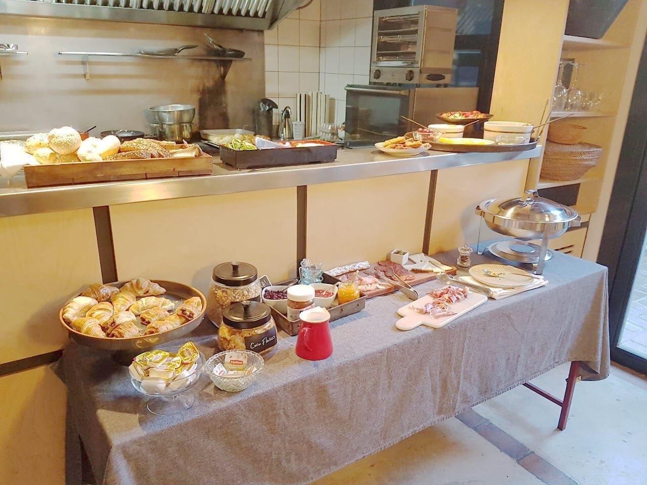 ontbijt hotel Brummell