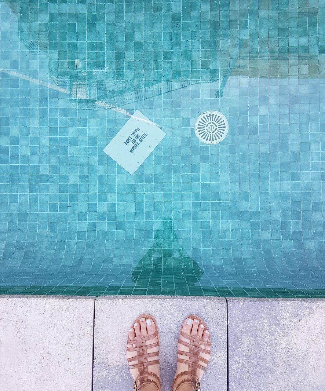 no swimming barcelona