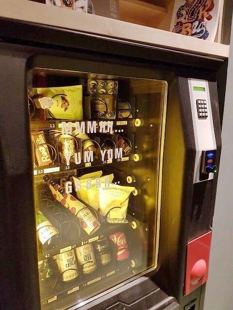 vending machine hotel