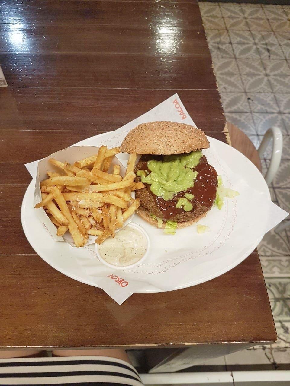 Black Bean burger Bocoa