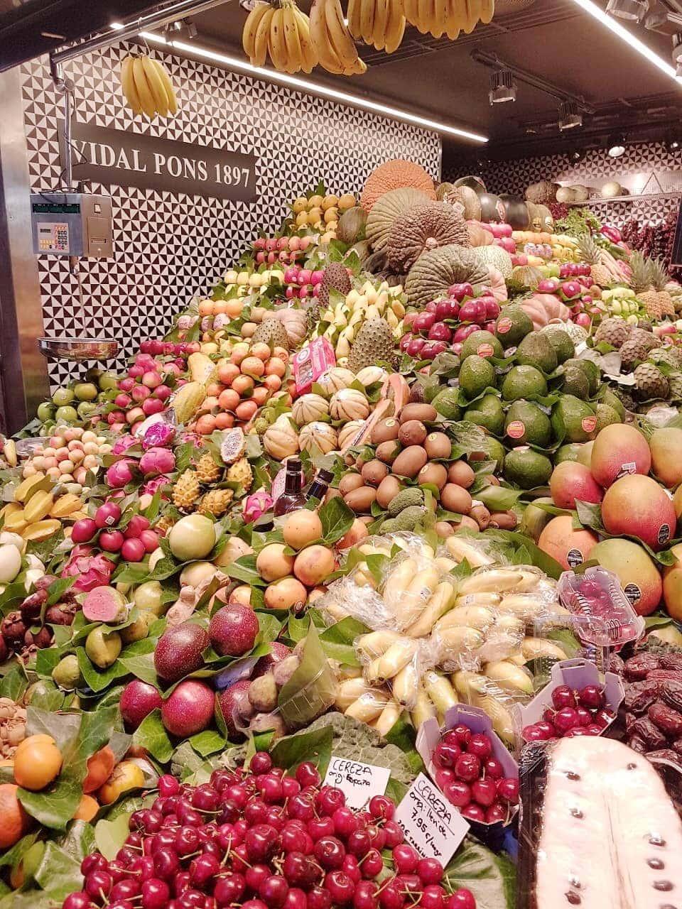 Fruit la Boqueria