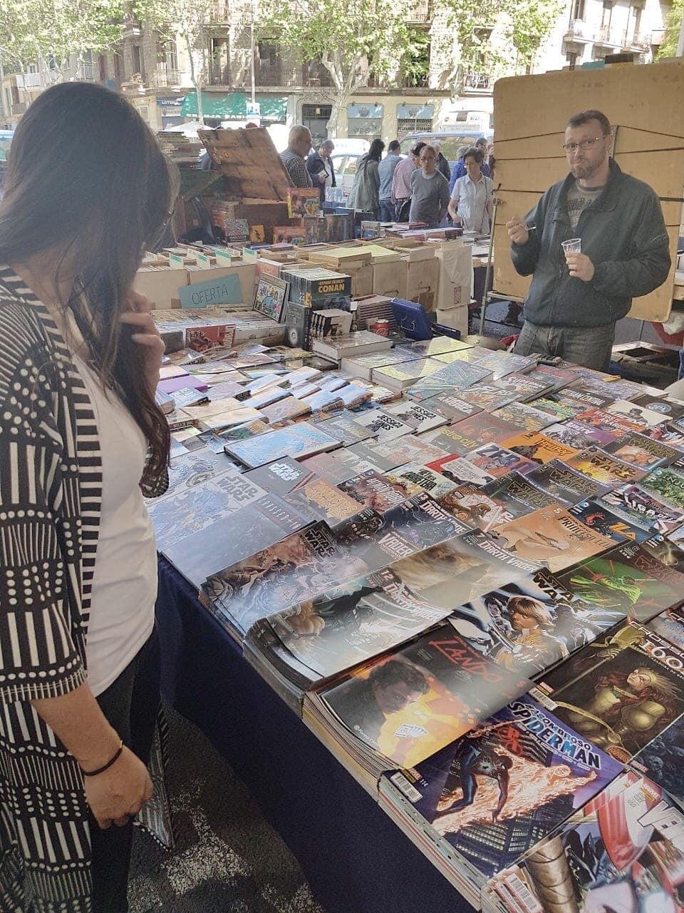 boekenmarkt Sant Antoni