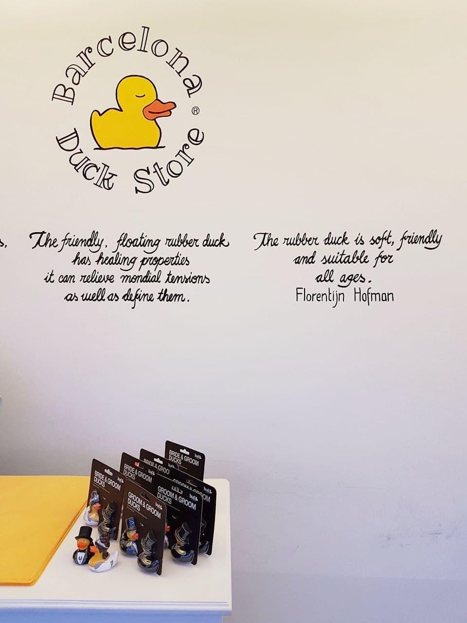 bezienswaardigheden Barcelona Duck Store