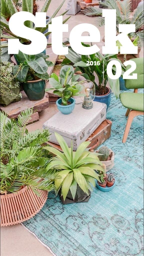 Interieur app Stek Magazine
