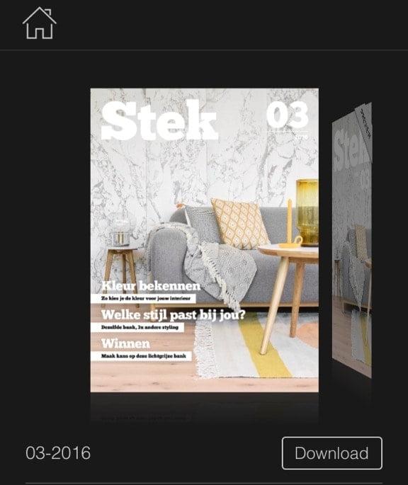 woonapp Stek Magazine