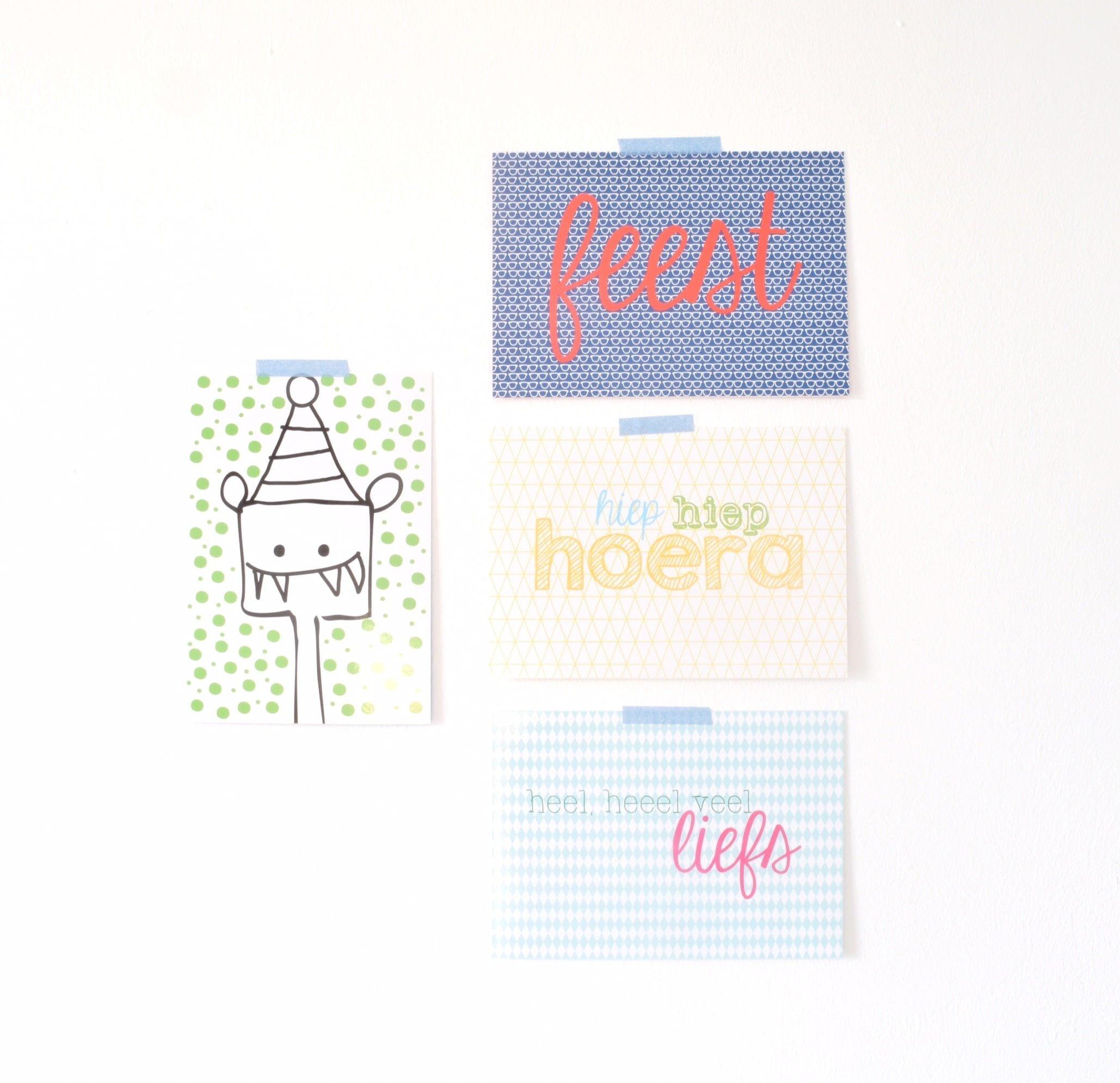 H&S cadeaupapier kaarten