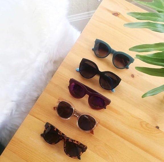 TOMS zonnebrillen