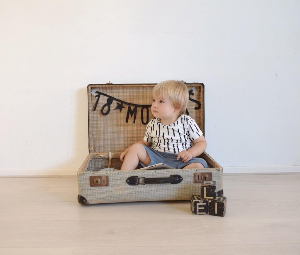 baby photoshoot suitcase