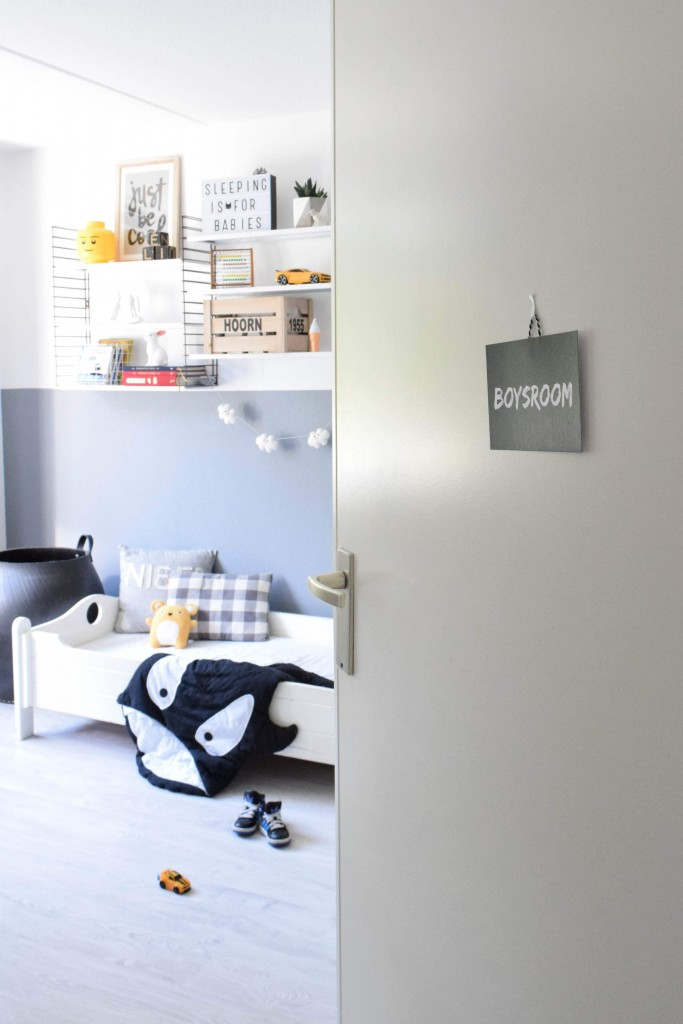 Boysroom deurhanger