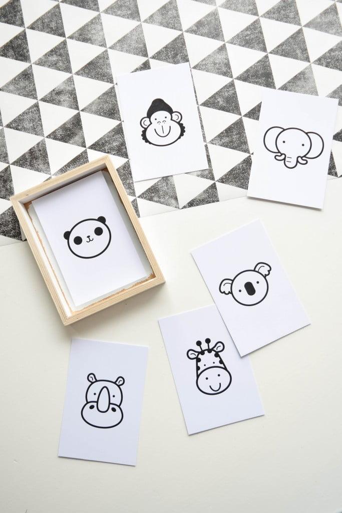 kinderkaarten kaartje van papier