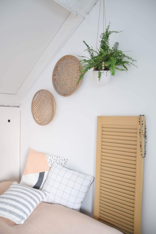wanddecoratie zolder slaapkamer