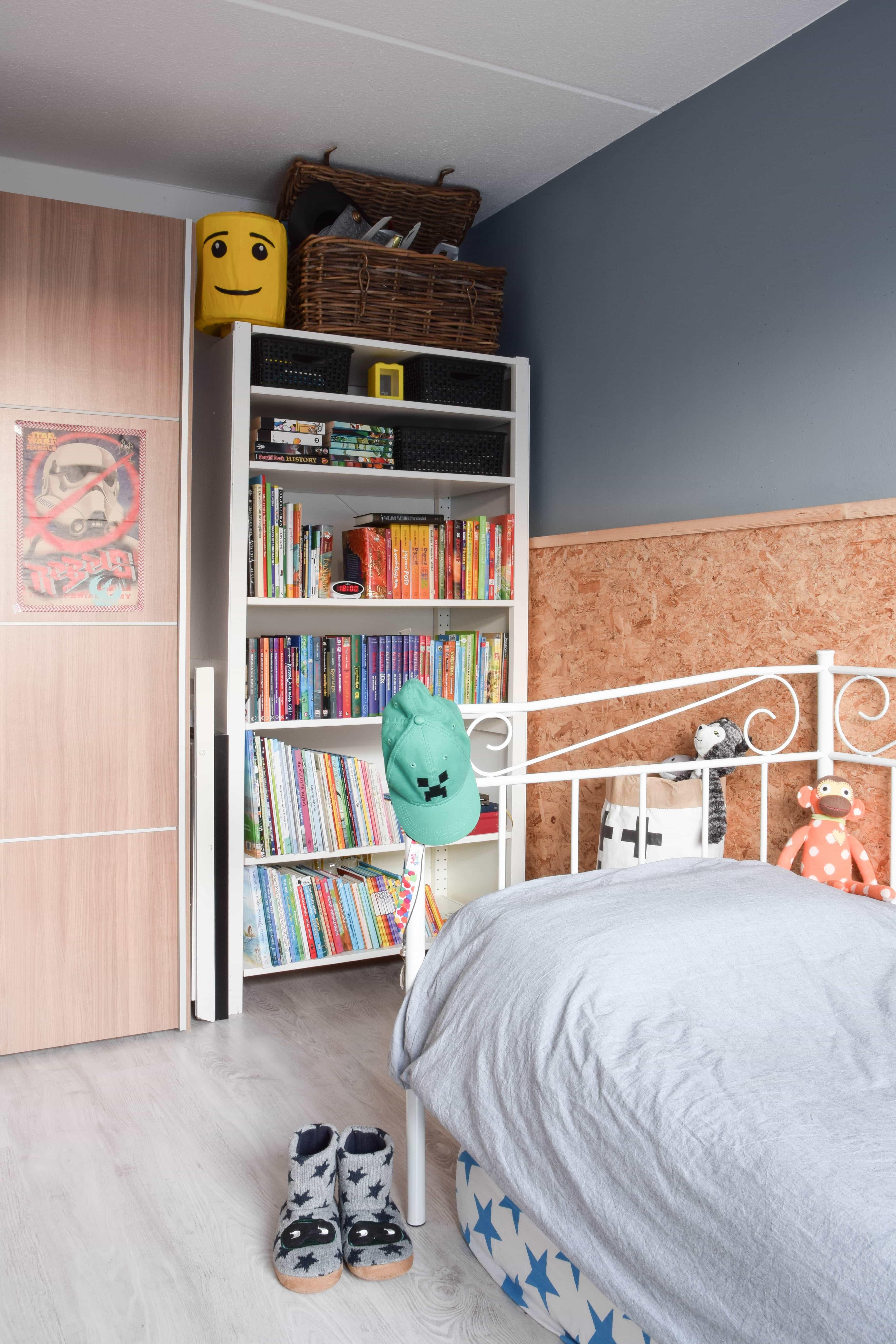 boekenkast tienerkamer